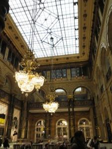 Lobby at Hilton Paris