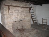 Interior of slave cabin