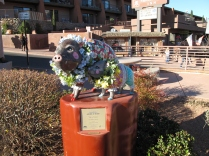 One of several colorful Javelinas in downtown Sedona