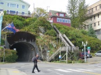The only tunnel that you can drive through, around and over!