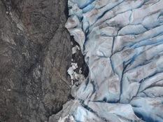 Granite and ice