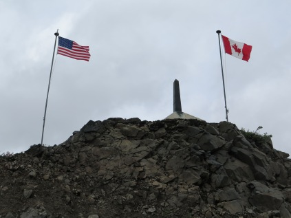 USA/Canadian border