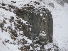 Basal columns at Gullfoss
