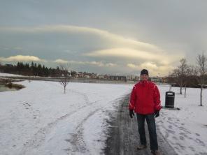 Looking south toward Hljómskálagarður Park